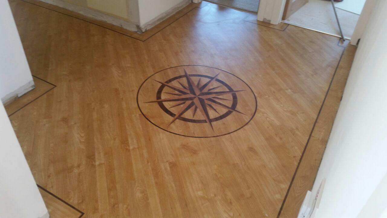 Karndean Arran Oak With Border Orlock Spence Carpets