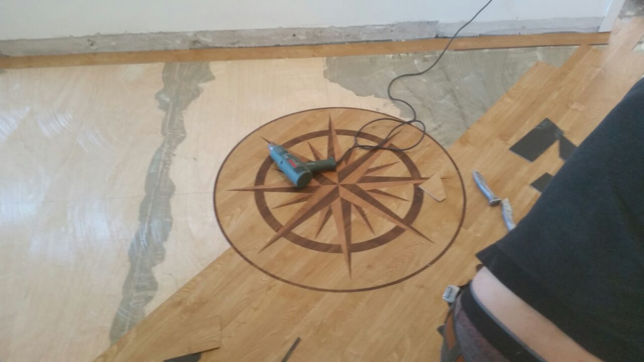Karndean Arran Oak Border Orlock Spence Carpets