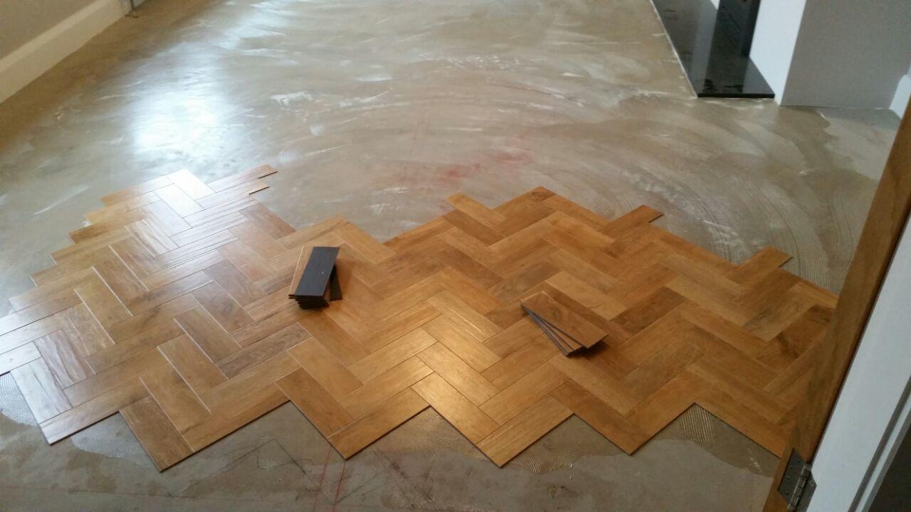 Karndean blonde oak flooring spence carpets for Parquet flooring